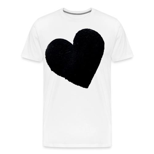 Ich Liebe Dich Herz - Männer Premium T-Shirt