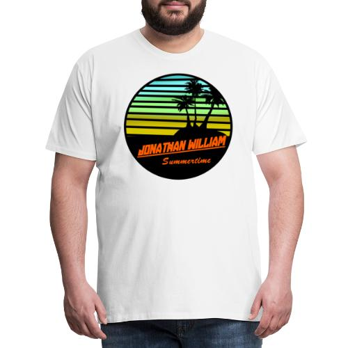 Jonathan William Summertime - Men's Premium T-Shirt