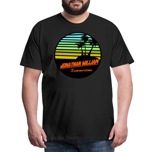 Jonathan William Summertime - Men's Premium T-Shirt