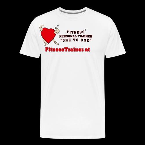 FitnessTrainer.at - Männer Premium T-Shirt