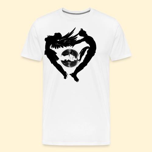 Elyo y asmodian - Camiseta premium hombre