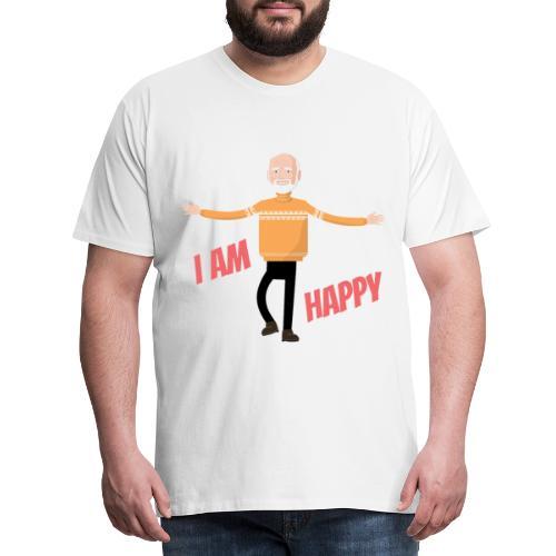 I am Happy - Men's Premium T-Shirt