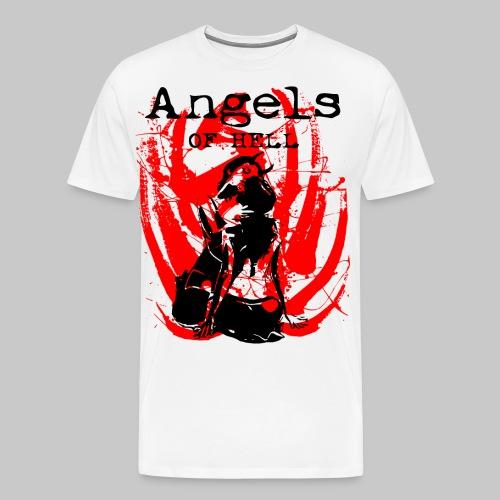 2reborn ANGELS OF HELL sexy Girls bl - Männer Premium T-Shirt