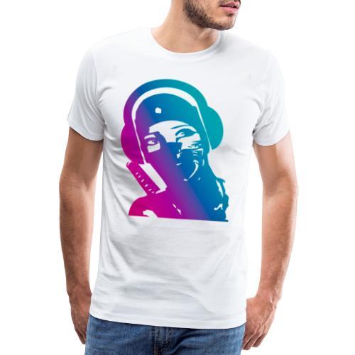 ninja headphone headphones, ninja, music, gaming - T-shirt Premium Homme