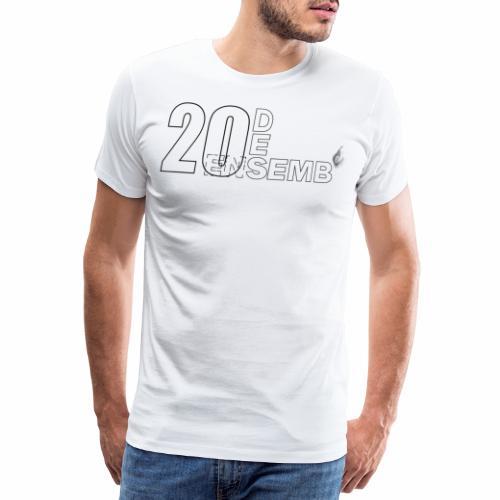20 desemb' Fete Kaf - T-shirt Premium Homme