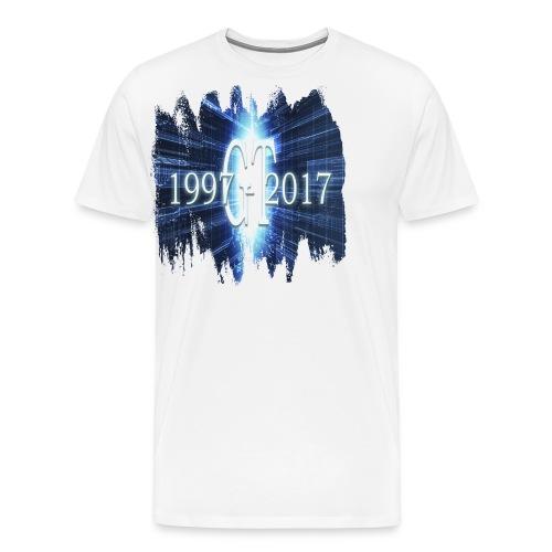 GuttaTur 20 years - Premium T-skjorte for menn