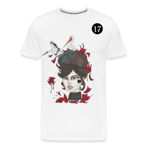 STÖRCHE IM BLOOMING LENORMAND | 17 - Männer Premium T-Shirt