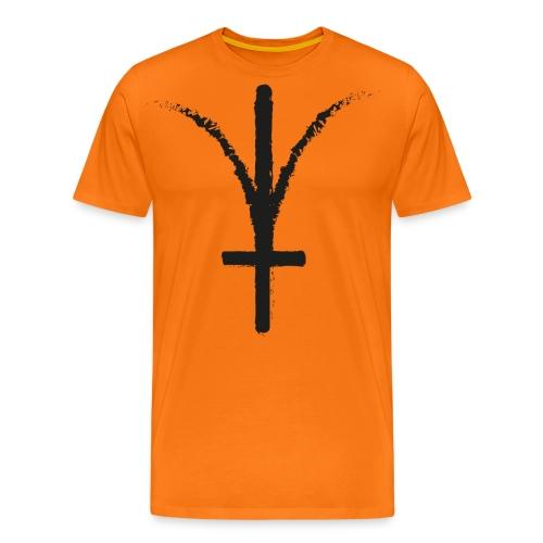 Kerbeross TriKross Black - Mannen Premium T-shirt