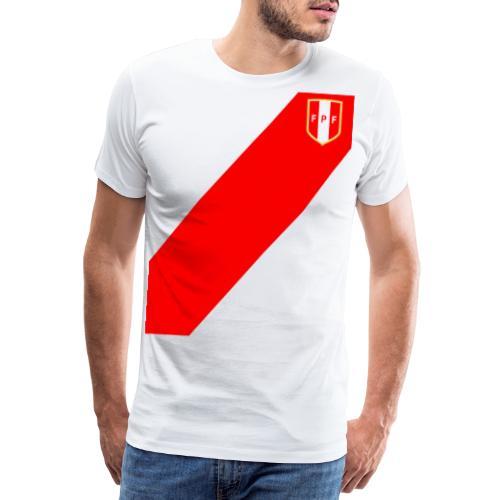 Seleccion peruana de futbol (Recto-verso) - Men's Premium T-Shirt