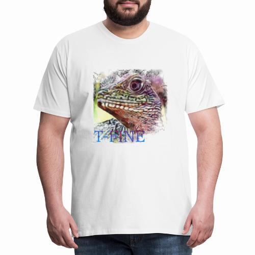 T-Fine Lézard 01 - T-shirt Premium Homme