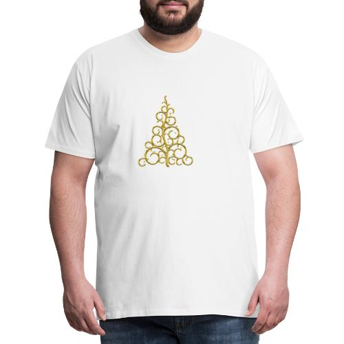 sapin chic gold - T-shirt Premium Homme