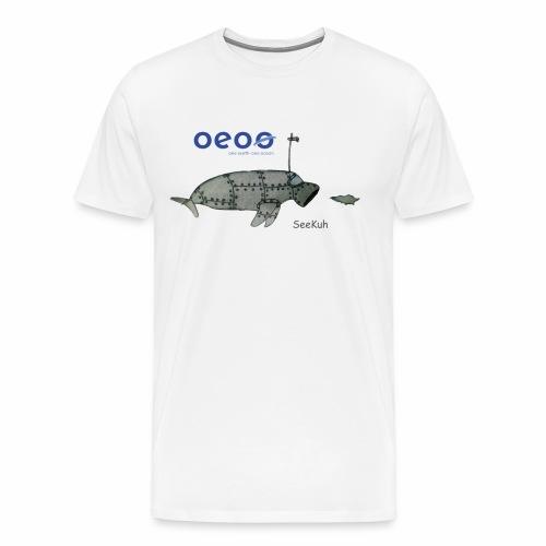 oeoo SeeKuh - Männer Premium T-Shirt