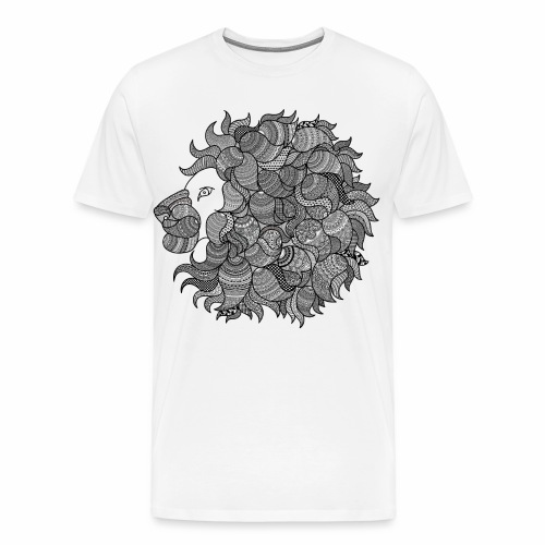 Sher White - Koszulka męska Premium