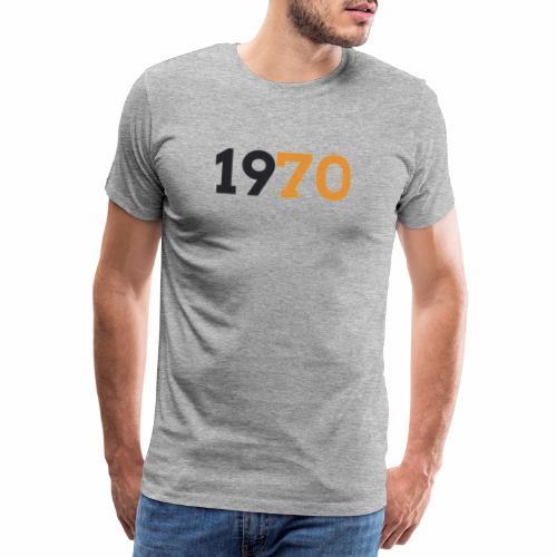 1970 - Premium-T-shirt herr