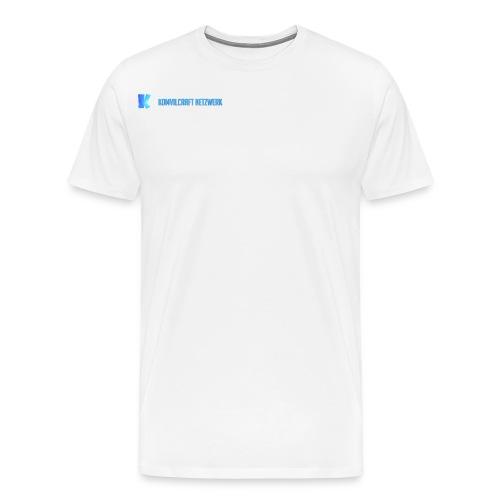 KomvilCraft | MINIMALISTISCH + Text - Männer Premium T-Shirt
