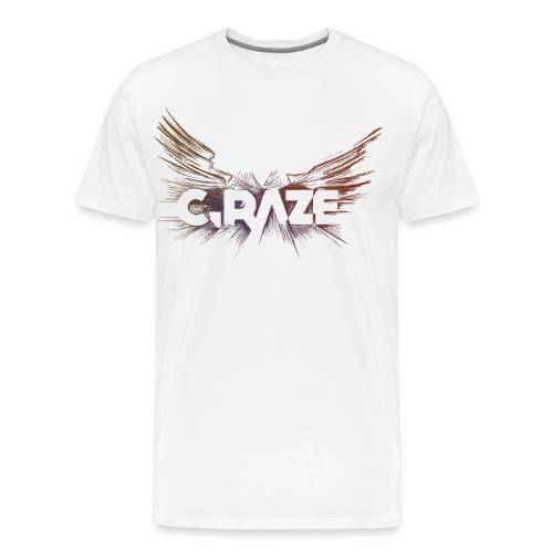 C Raze Shirt white - Männer Premium T-Shirt