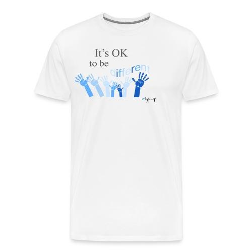 Its OK to be different - Koszulka męska Premium