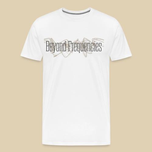 BF Waves Classic Design White - Männer Premium T-Shirt