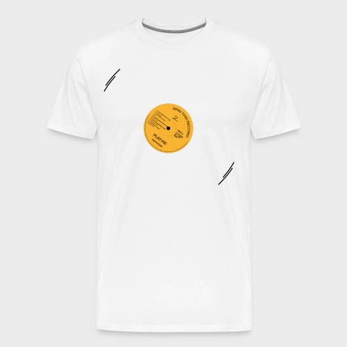 T-Record - Classic Elpee Design - Mannen Premium T-shirt