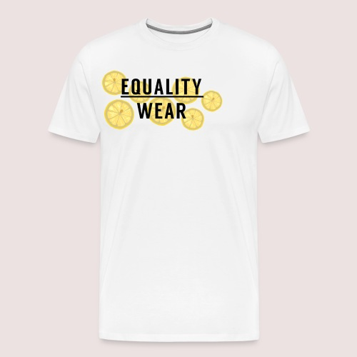 Equality Wear Fresh Lemon Edition - Men's Premium T-Shirt