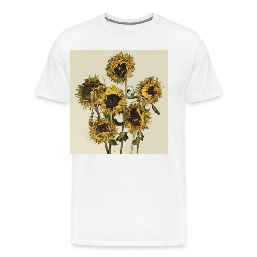 Sunflowers - Men's Premium T-Shirt