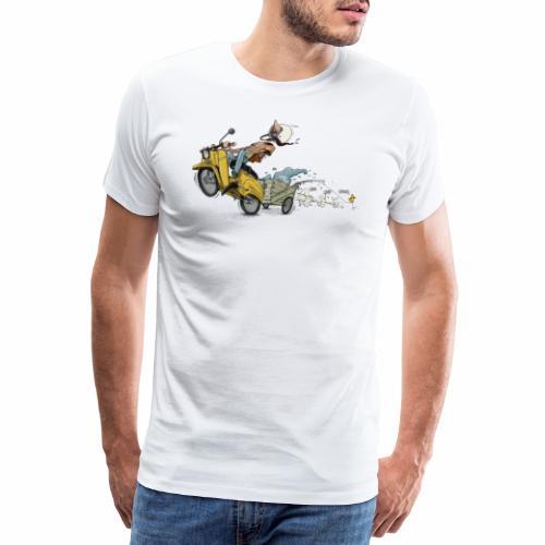 Simson Schwalbe DDR Ostalgie - Männer Premium T-Shirt