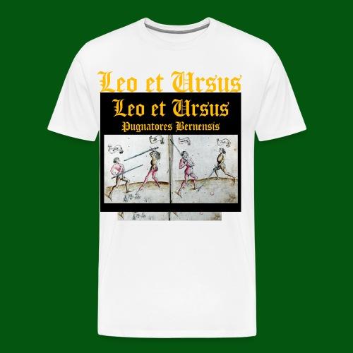 Vereinswappen Leo et Ursus - Männer Premium T-Shirt