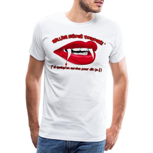 Chemise Tshirt T shirt Drole Cool Gothique Dracula - T-shirt Premium Homme