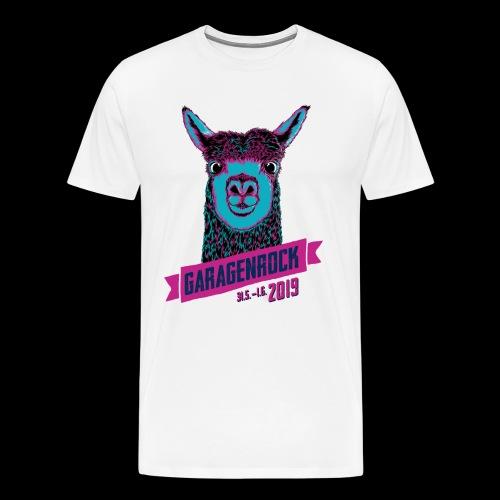 Vorderseite Garagenrock A - Männer Premium T-Shirt