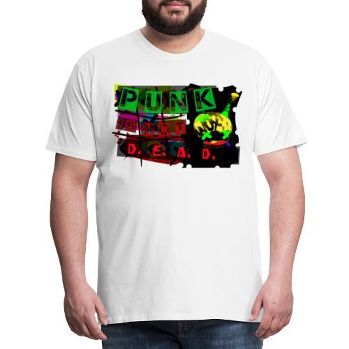 Tshirt Halloween Gothique Cyber Punk Is Not Dead - T-shirt Premium Homme