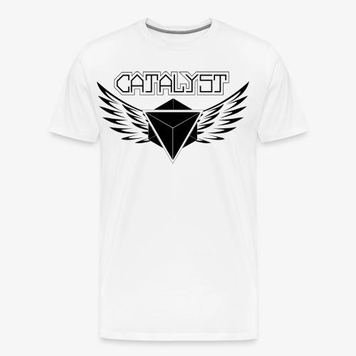 Simple Logo Front Black - Männer Premium T-Shirt