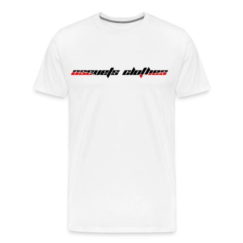 Oscuest Clothets White T-Shirt - Camiseta premium hombre