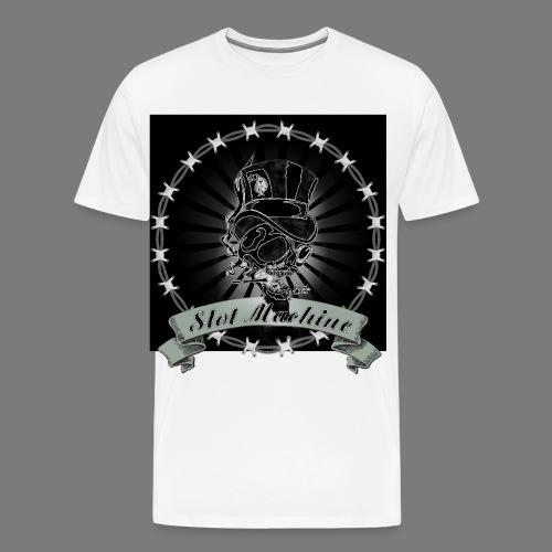 Smoking Gambler - Männer Premium T-Shirt