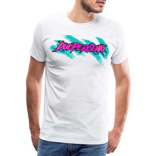 DuePerCento 90s - Maglietta Premium da uomo