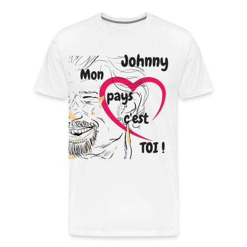 Oh Johnny - T-shirt Premium Homme