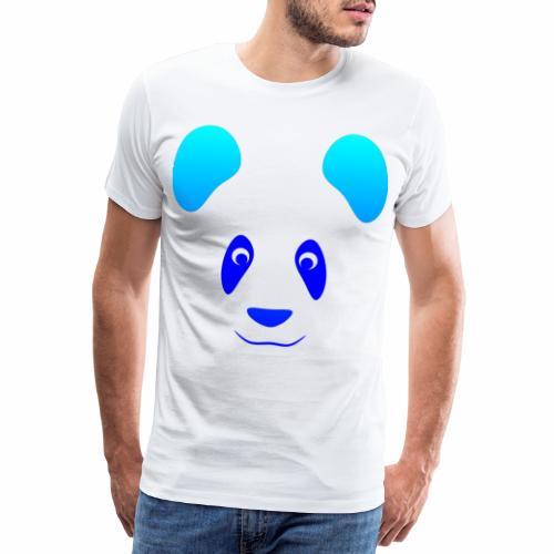 Happy Panda - Blue - Men's Premium T-Shirt