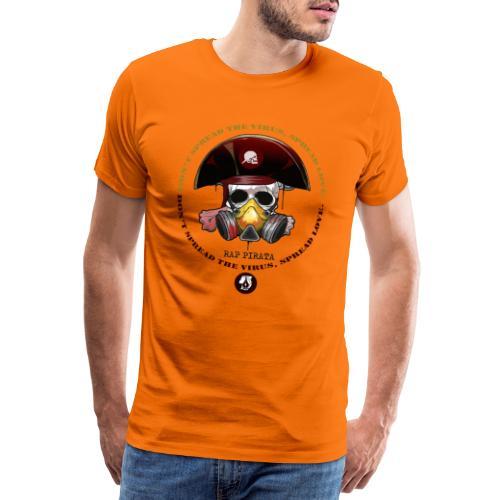 RAPPIRATA X iorestoacasaArtistiUniti - Maglietta Premium da uomo
