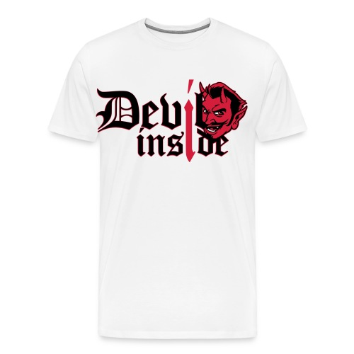 devil inside finish - Männer Premium T-Shirt