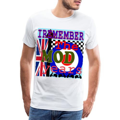 REMEMBER THE MOD YEARS - Men's Premium T-Shirt