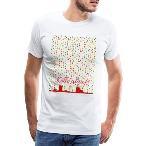 Konfettiregen, Kölle alaaf! - Männer Premium T-Shirt