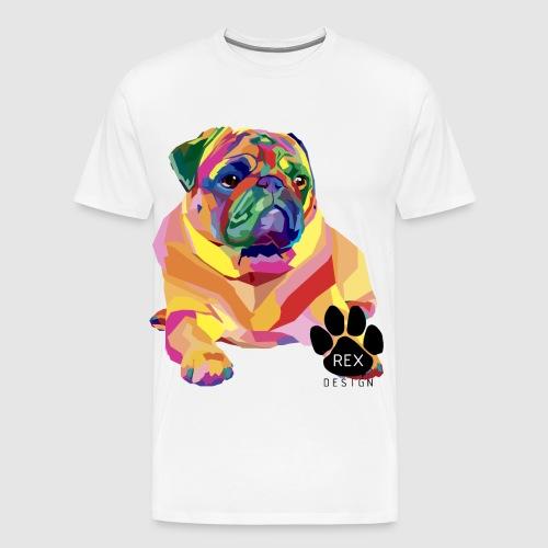 A Pug Life - Men's Premium T-Shirt