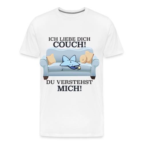 Sofa liebe - Männer Premium T-Shirt
