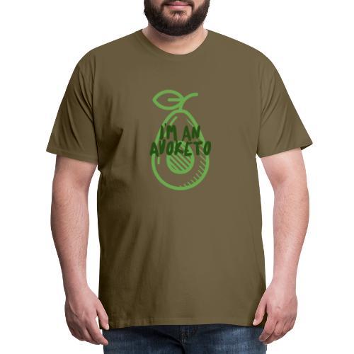 Witziges Keto Shirt Frauen Männer Ketarier Avocado - Männer Premium T-Shirt