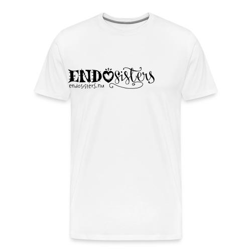 EndoSisters Logo - Premium-T-shirt herr