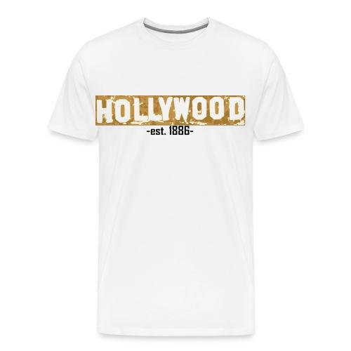 Hollywood - Männer Premium T-Shirt
