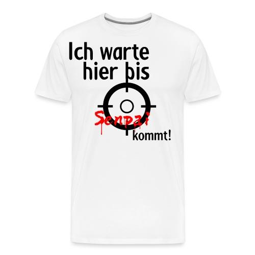 Warten auf Senpai 2v2 - Männer Premium T-Shirt