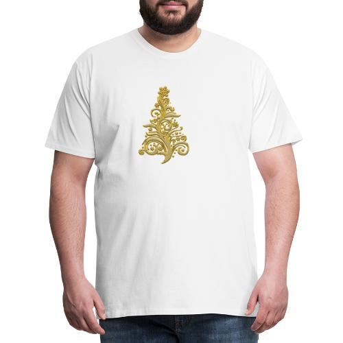 sapin or - T-shirt Premium Homme