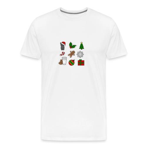 Weihnachts Design, auch als Geschenk für Freunde - Männer Premium T-Shirt