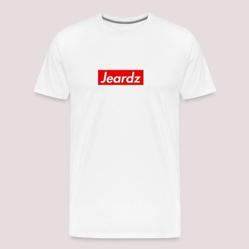 Jeardz Box Logo - Men's Premium T-Shirt