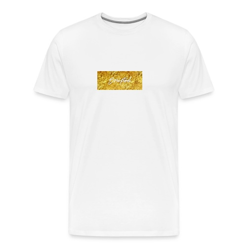 Scripted. Box Logo - Men's Premium T-Shirt